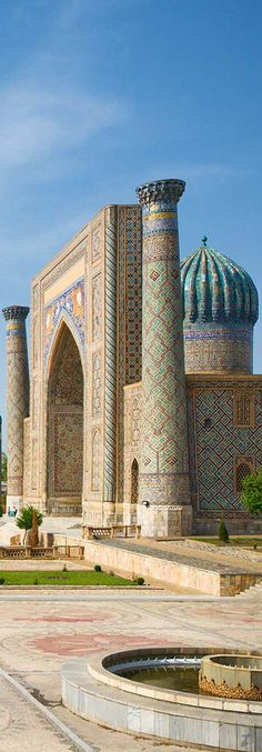 Samarkand City | Uzbekisthan Islamic City, Islamic World, Detail Architecture, Islamic Architecture, Places Around The World, Around The Worlds, Beautiful World, Beautiful Places, Monuments