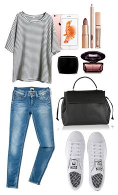 """""""Untitled #317"""" by mercedes-designs on Polyvore featuring Tommy Hilfiger, adidas, Lanvin and Alexander McQueen"""