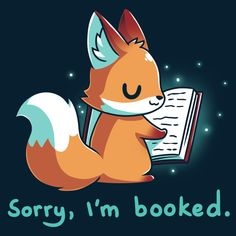 Can't you see this little fox is busy? This book's not going to read itself 📖 Cute Animal Drawings, Kawaii Drawings, Cartoon Drawings, Cute Drawings, Cute Fox Drawing, Drawing S, Anime Animals, Cute Animals, Cartoon Mignon