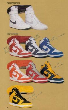 Nike Dunk Catalogue 1985