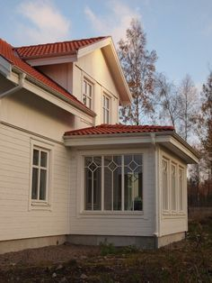 Red Roof, Trendy Home, Cabins In The Woods, House Goals, Conservatory, Sunroom, Interior Inspiration, Decoration, Tiny House