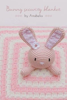 Oh my goodness this must be the most adorable little Crochet Bunny Blanket. The pattern for this one is totally FREE and is provided by my new Crochet Crush AnabeliaHandmade.I know I am way too o…
