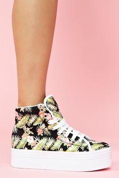 Homg Platform Sneaker