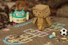 Danbo: playground #hopscotch