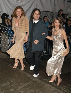 Zoe Cassavetes, Marc Jacobs, and Sofia Coppola attending the 2004 Costume Institute Gala.
