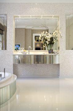 Bathroom : Glam Style Bathroom Mirror Ideas Diy Vanity Mirror Ikea' Hollywood Vanity Mirror Ikea' Light Fixtures For Bathrooms or Bathrooms Beveled Mirror Bathroom, Vanity Mirror Ikea, Floating Vanity, Vanity Bar, Glam Mirror, Vanity Units, Mirrors, Glamorous Bathroom, Vintage Bathrooms