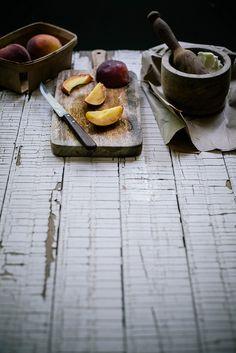 making sea salt & honey peach butter by Beth Kirby   {local milk}, via Flickr