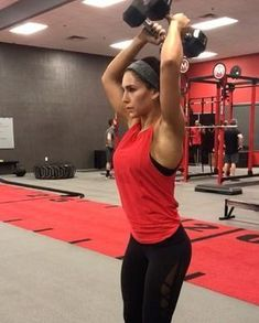 """10.1k Likes, 230 Comments - Alexia Clark (@alexia_clark) on Instagram: """"Ultimate upper body circuit! I love shoulder work! Try this circuit this weekend! 1. 15 reps each…"""""""