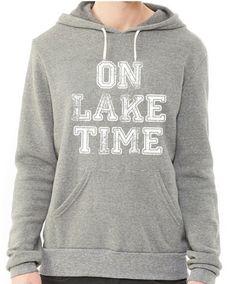 On Lake Time Hoodie Sweatshirt
