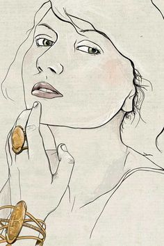 Fifi Bijoux Fashion Illustration - Abby Wright Illustration