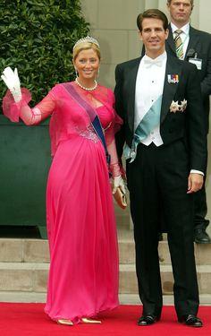 Prince Pavlos and Princess Marie Chantal