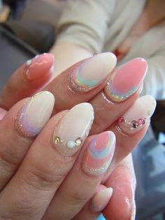 + * ☆ crayon image of arch + * ☆ | value of the gel nail salon Mani Closet presided over Nozomi Tsutsui of Shinsaibashi ...