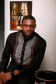 African Mens fashion  style Kenneth Okolie (Mr. Nigeria) www.thatssewnaija.