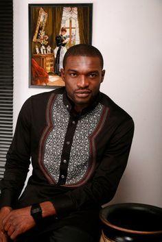 African Men's fashion & style Kenneth Okolie (Mr. Nigeria) ~African Prints, Ankara, kitenge, African women dresses, African fashion styles, African clothing, Nigerian style, Ghanaian fashion ~DKK