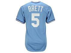George Brett Kansas City Royals Cooperstown Jerseys