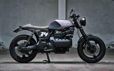 Inazuma café racer: Motorecyclos K100 Scram