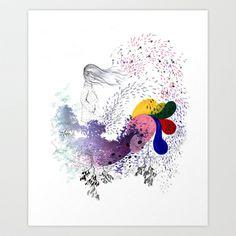Viento Art Print by Gabi Piserchia - $16.64