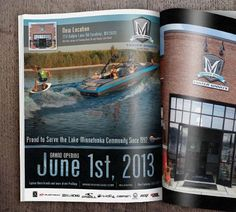 Minnesota Inboard Water Sports Magazine Ad #capturemarketing #marketing #design #print #printad #advertising #watersports