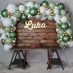 Balloon Garland, Balloon Decorations, Green Party Decorations, Ballon Arch, Balloons Online, Bachelorette Party Decorations, Bachelorette Parties, White Balloons, Baby Shower Parties