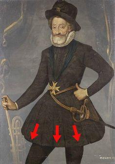 Henri IV, années 1600