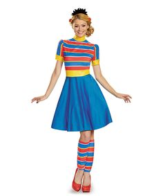 Look what I found on #zulily! Ernie Dress Costume Set - Adult by Disguise #zulilyfinds