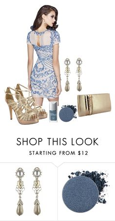 """""""PARTY - modisch & sexy"""" by skull-and-crossbone ❤ liked on Polyvore featuring Oscar de la Renta, Anastasia Beverly Hills, Christian Dior, party, Sexy and modisch"""