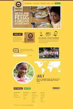 Unique Web Design, Rice Bowls #WebDesign #Design…