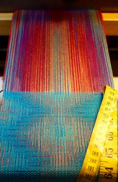 Random Acts of Color: Just Off the Loom: 12-Shaft Double Weave from Stubenitsky's Echo and Iris