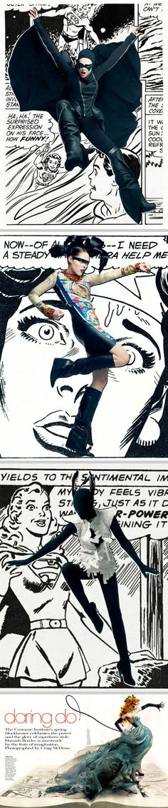 Superhero Style by Craig McDean #Comic #Fashion