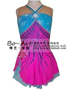 hot sales Ice Skating Dress Beautiful  New Brand vogue Figure Ice Dress Competition customize A1056