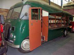 Bibliobús britànic (1950) [El cuaderno de Luis: El centenario del bibliobús (I)]