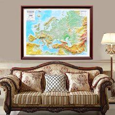 An amazing idea for embellishing offices and homes, 3D maps will steal the spotlight and make you win appreciations from many. #testplay #catalog #2016 #3dmap #reliefmap #usamap #worldmap #europemap #travel #design #decor #interior #homeandoffice #walldecor #wallart #roomdecor #framedart #artwork #panoramaeffectmap #map #travelguide #mountain #souvenir #gift #decorativemap