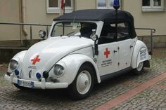 Counting Cars, Emergency Response, Emergency Vehicles, Vw Beetles, Red Cross, Dune, Firefighter, Vintage Cars, Volkswagen