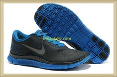 sports shoes ee6af de3fb Latest Listing Cheap Dark Obsidian Reflect Silver Soar Blue Mens Nike Free  The Most Flexible Shoes