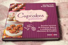 livro pra fazer os cupcakes mais deliciosos
