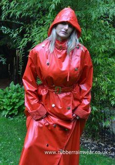 Raincoats For Women Polka Dots Red Raincoat, Vinyl Raincoat, Raincoat Jacket, Plastic Raincoat, Plastic Pants, Hooded Raincoat, Rain Jacket, Long Raincoat, Plastic Mac