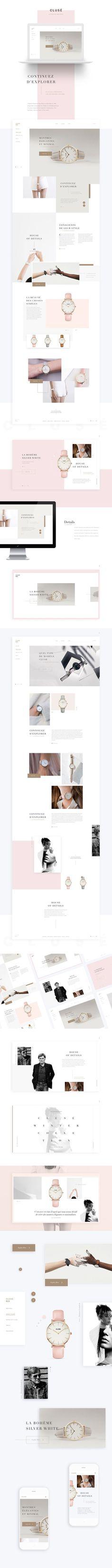 Clusé on Web Design