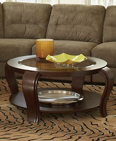 Park West Table Collection 2 Piece Set Round Leather Cocktail