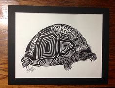 Thank you to Kelly Jeter for this beautiful turtle in Raven Black matoard.
