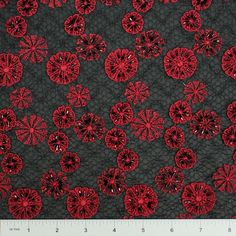 Sheer Applique Lace Fabric | NY Fashion Center Fabrics
