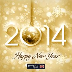 Pavers England wishes all its fans a very #HappyNewYear! May 2014 bring in lots of love, joy, peace and prosperity.