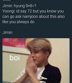 HAHAHAHA i can imagine this conversation! Aww sulky Yoongi