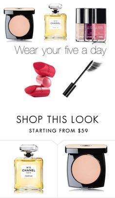 """""""Fifty ways to wear Chanel # 45"""" by sharon-griffith ❤ liked on Polyvore featuring Chanel and Rossetto"""
