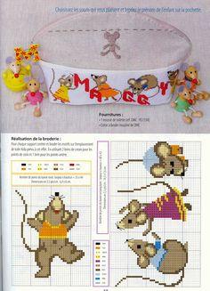 Cross-stitch Cute Mice...    Gallery.ru / Фото #8 - 918 - Yra3raza