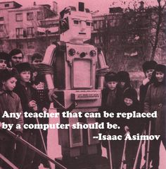 Replacing teachers by computers