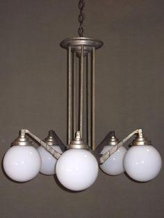 FRENCH ART DECO CHANDELIER PSL/Z109,Tiffany lamps | Art Deco Lighting | Antique Lighting | Designer Lighting