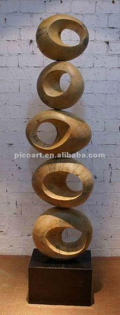 esculturas de madera modernas - Buscar con Google