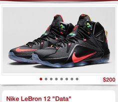 Nike LeBron 12 Data Release Date and Official Images Black Bright Mango  Hyper Punch Volt 684593 068 8d92bbf8488