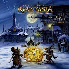 Avantasia - The Mystery of time. Nicht die stärkste Scheibe von Avantasia.
