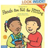 Hands Are Not for Hitting...is a great social story for toddler and preschool children who hit.  It gives great examples on what good things hands can be used for.